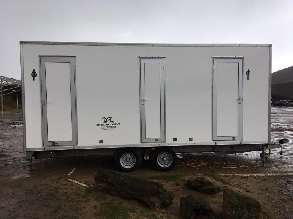 Luxury Toilet Block Rental