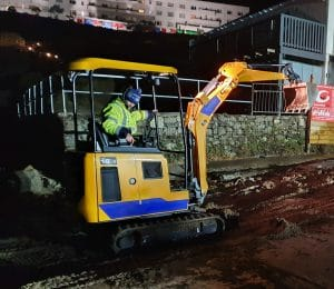 Mini Digger Rental