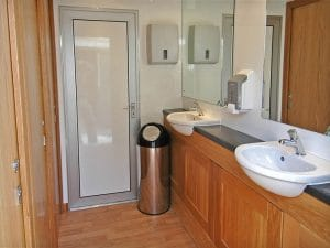 Luxury Toilet Inside