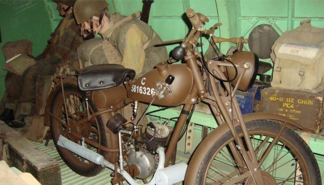 Military Bike for Film Work