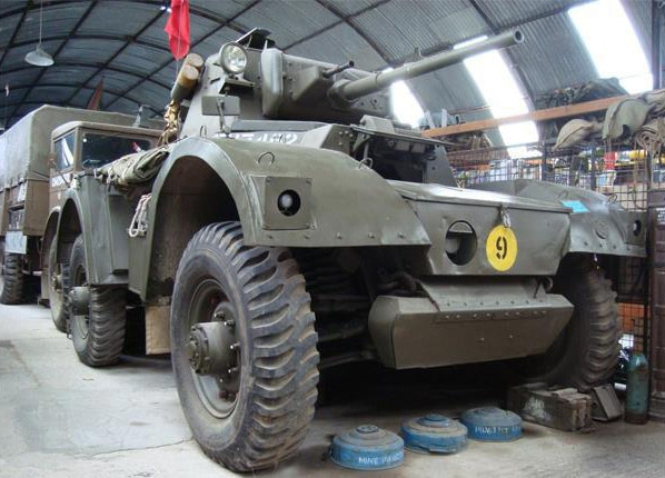 Military Tank for Film Work