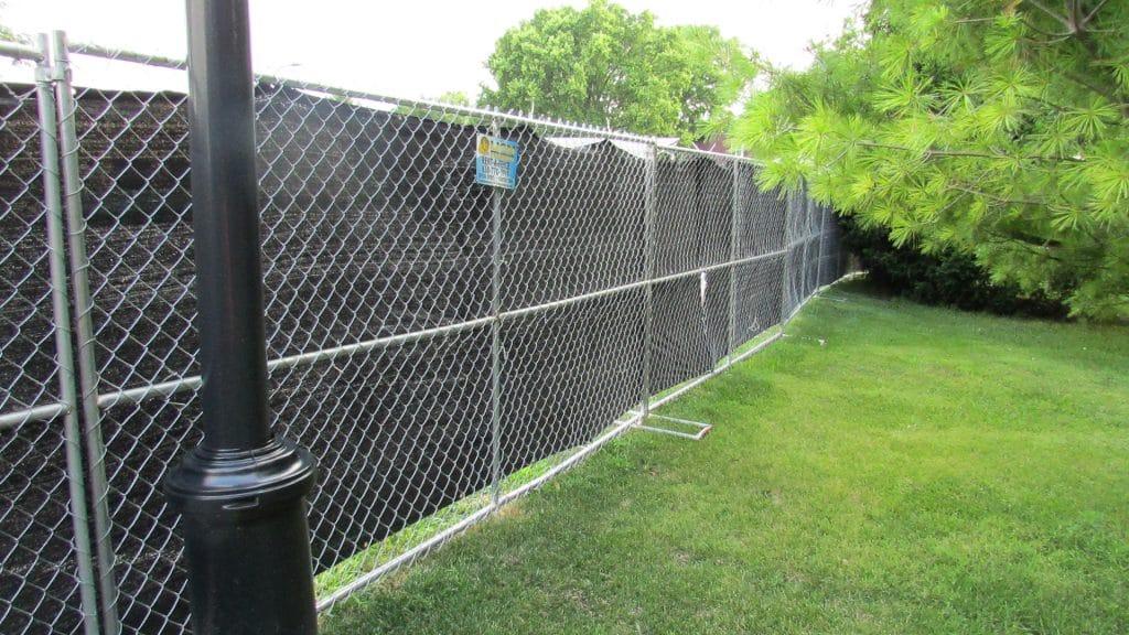 Heras Fencing Installation to Secure Location