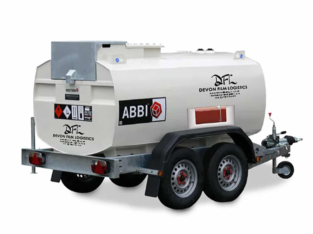 Towable Diesel Fuel Bowser
