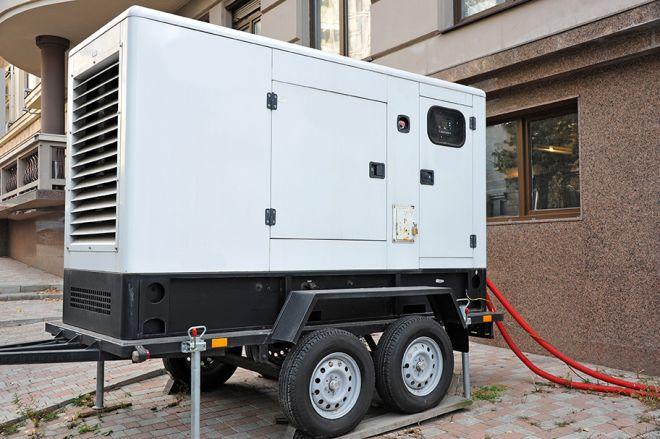 Mobile electric generator