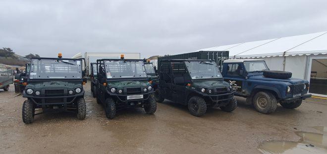 Devon Film Logistics Gators & 4x4