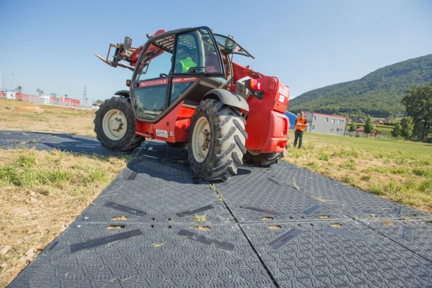 IsoTrack Ground Protection Mats